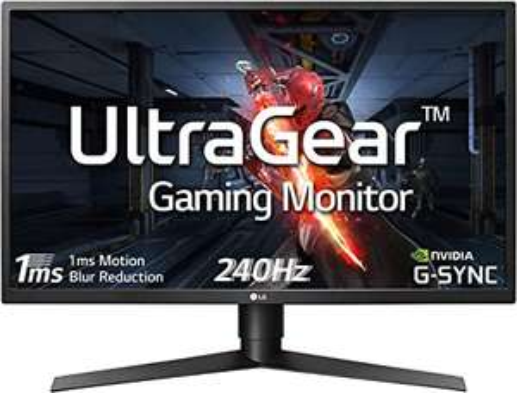 "LG UltraGear 27GN750-B (27"") Full HD IPS Gaming-Monitor 240Hz"