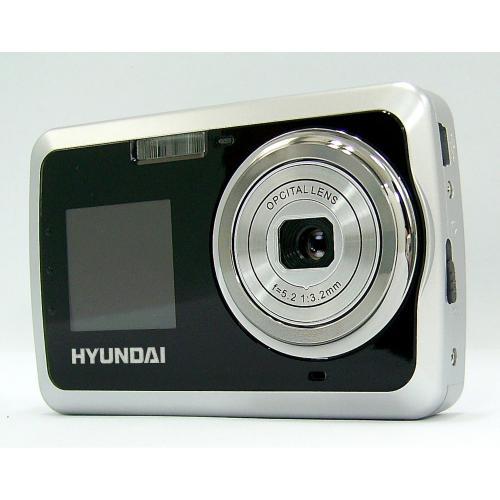 HYUNDAI L5127 Doubly Digitalkamera Digital Kamera 5 MP, 2 Displays silber!