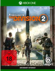Tom Clancy's The Division 2 (Xbox One & PS4) für je 8,99€ (Saturn & Media Markt & Müller Abholng