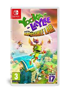 Yooka-Laylee and the Impossible Lair (Switch) für 22,77€ (Amazon FR)