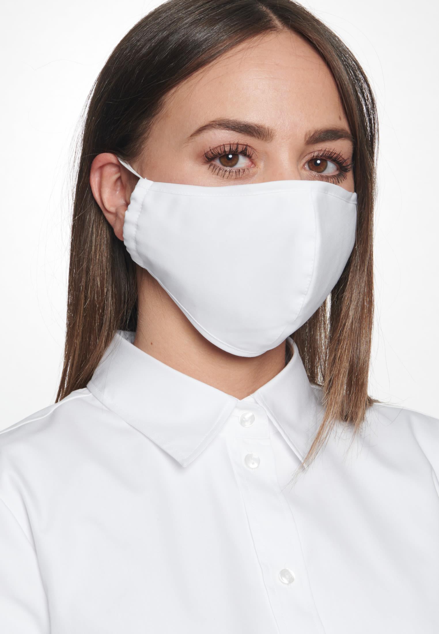 10er Pack Masken (weiß) nur 9,90€ bei Seidensticker