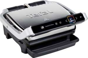 Tefal GC750D OptiGrill Elite Kontaktgrill, digitales Display, 2000 Watt