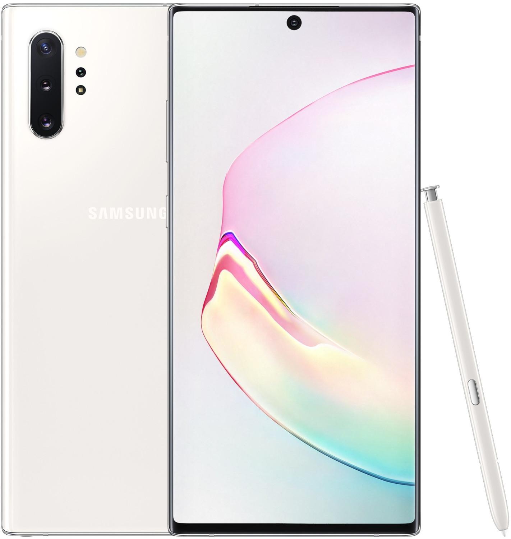 Samsung Galaxy Note 10 Plus (256GB, aura white) für 29€ Zuzahlung mit o2 Free M Boost (40GB LTE, Allnet- & SMS-Flat, o2 Connect) mtl. 34,99€