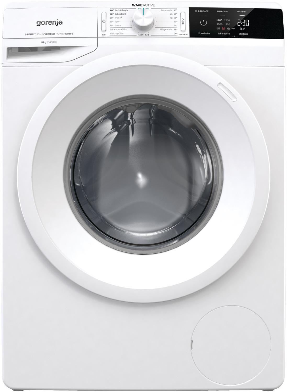 """[Marktkauf] Minden-Hannover Gorenje Waschmaschine """"WEI943P"""" 9kg, 1.400U/Min, A+++, Frontlader, 214kWh/Jahr zusätzlich 10% Rabatt für 269,10€"""