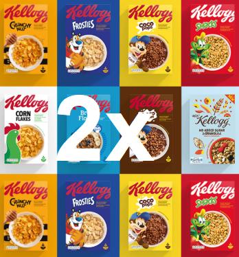 2x Kellogg's Ceralien verschiedene Sorten dank 2,50€ Sofortrabatt nur 0,61€ pro Packung +++ Kasten Bionade 12x0,33l für 6,96€