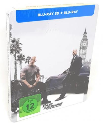 AVIDES Deal Club 5 Medien (Blu-Ray/DVD/Tape) für 25€+3,99€ Versand, auch auf Limited/Steel Edition,z.B. Fast&Furious,The Mule, Skyscraber 4K