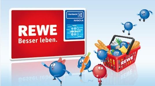 [Payback] 10fach Punkte bei Rewe ab 2€ für den gesamten Einkauf | 15fach ab 40€