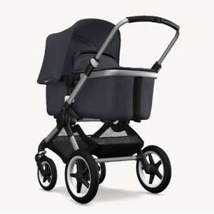Bugaboo Kombikinderwagen Fox Plus Complete in Alu/Steel Blue für 800,99€
