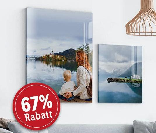 Acrylglas Bild in 40x30cm inklusive Versand bei Lidl Fotos