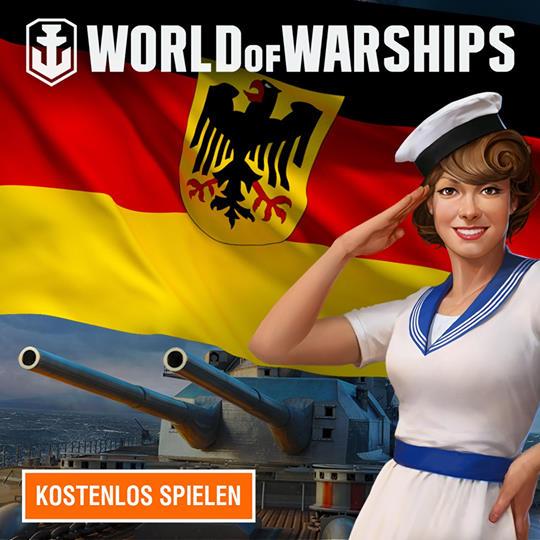 [World of Warships] Jetzt mit Starter Pack im Wert von 25 € kostenlos spielen !
