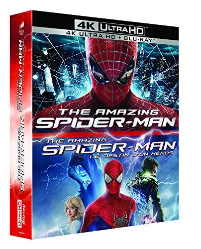 The Amazing Spider-Man + The Amazing Spider-Man Rise of Electro (4K Blu-ray + Blu-ray) für 25,97€ (Amazon.fr)