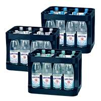 [Edeka Rhein-Ruhr] Gerolsteiner Mineralwasser Sprudel/Medium/Naturell Kasten (12x1,0l PET Mehrweg) mit Coupon für 4,99€