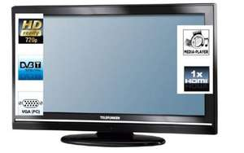 Telefunken LCD Fernseher T32A884 HDR 32 Zoll 81 für 221,90 EUR inkl. Versand