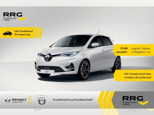 [Gewerbeleasing] Renault ZOE INTENS R135 Z.E. 50 Inkl. Batterie, Wartung und Verschleiß* effektiv 54,97, 24M/10.000km