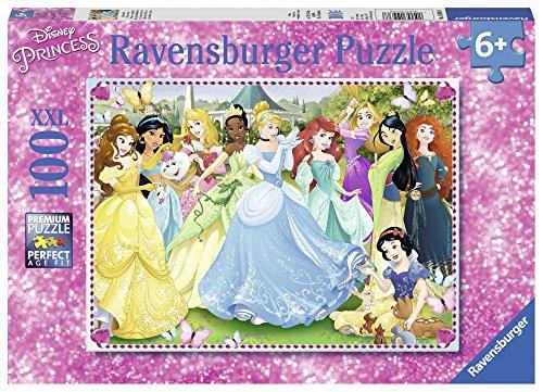 Ravensburger Kinderpuzzle - Zauberhafte Prinzessinnen (100 Teile) für 4,87€ (Amazon Prime)