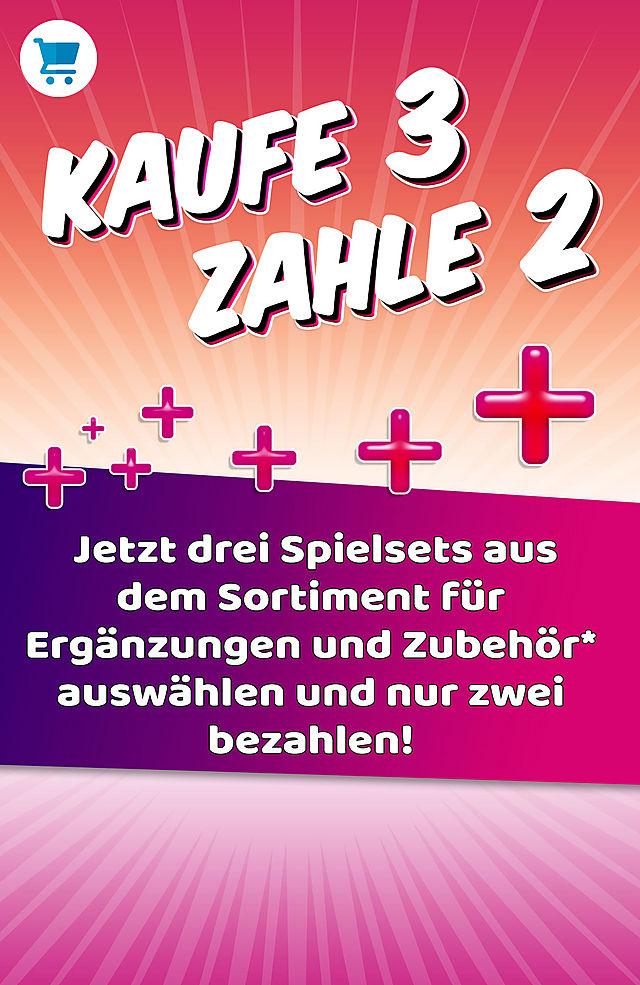 Kaufe 3, zahle 2! aus dem Sortiment Ergänzungen und Zubehör + gratis Versand ab 20€