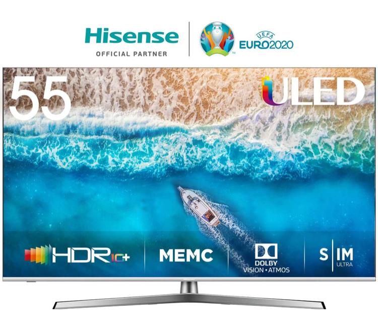 Hisense 55U7B reduziert auf Amazon