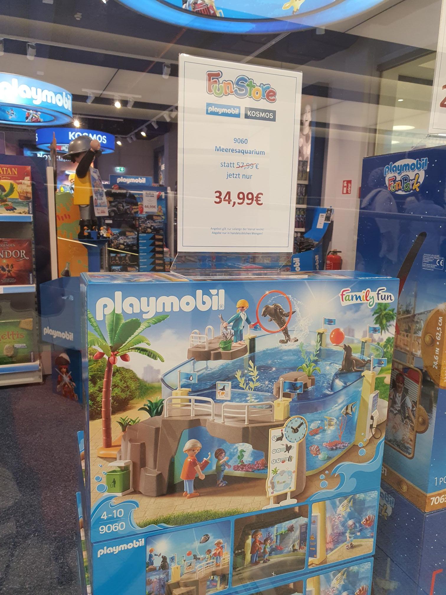 [Lokal FFM im NWZ] Playmobil 9060 Meeresaquarium