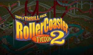 RollerCoaster Tycoon 2: Triple Thrill Pack (Steam) für 1€
