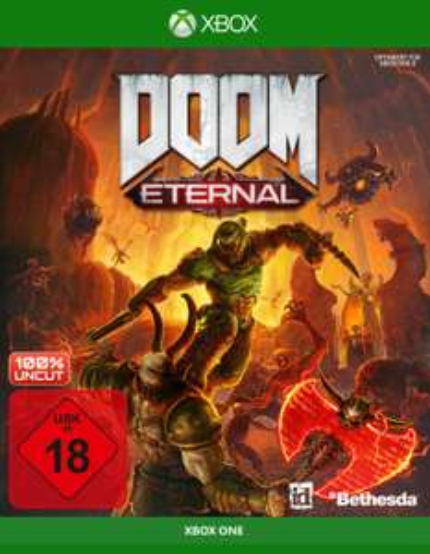 DOOM Eternal (Xbox One & PS4) für je 33,61€ (Saturn Abholung)