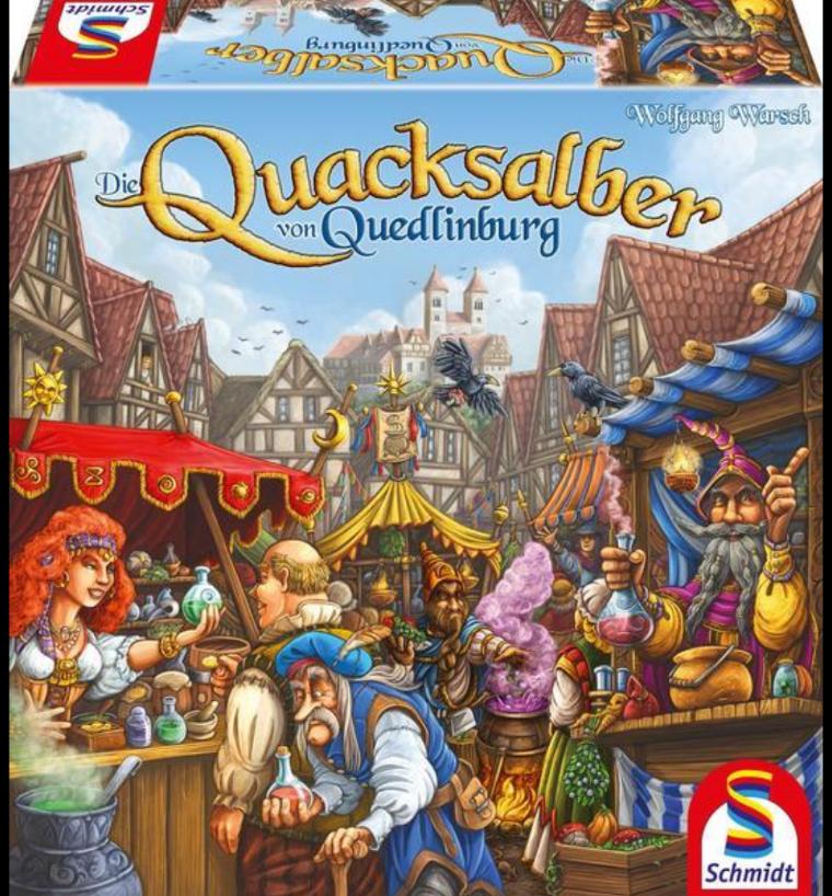 Die Quacksalber von Quedlinburg - Kennerspiel des Jahres 2018 [Amazon Prime]