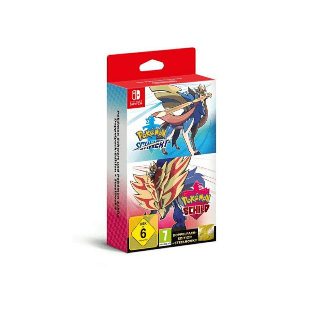 [Saturn MwSt Aktion] Nintendo Switch Pokemon Schwert Schild Doppelpack Limited Edition