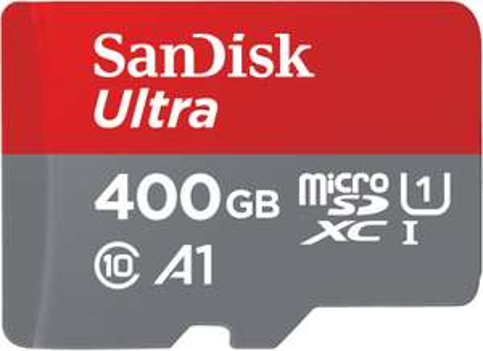 SANDISK Ultra 400GB microSDXC UHS-I Speicherkarte 100 MB/s für 45,37€ mit Visa inkl. Versandkosten
