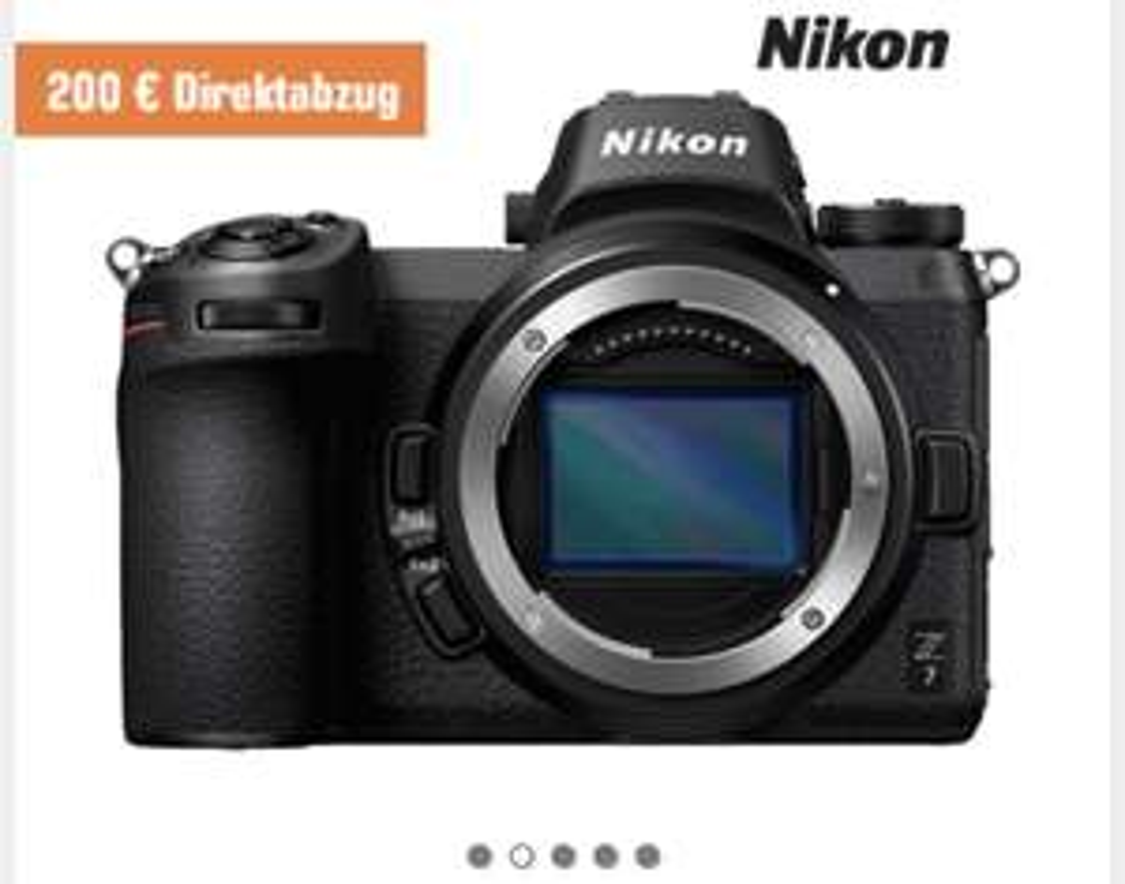Saturn - Nikon Z7 - Bestpreis? 200€ Cashback