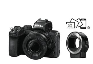 Nikon Z50 Kit inkl. FTZ Adapter und 16-50-Kit Objektiv zum Bestpreis