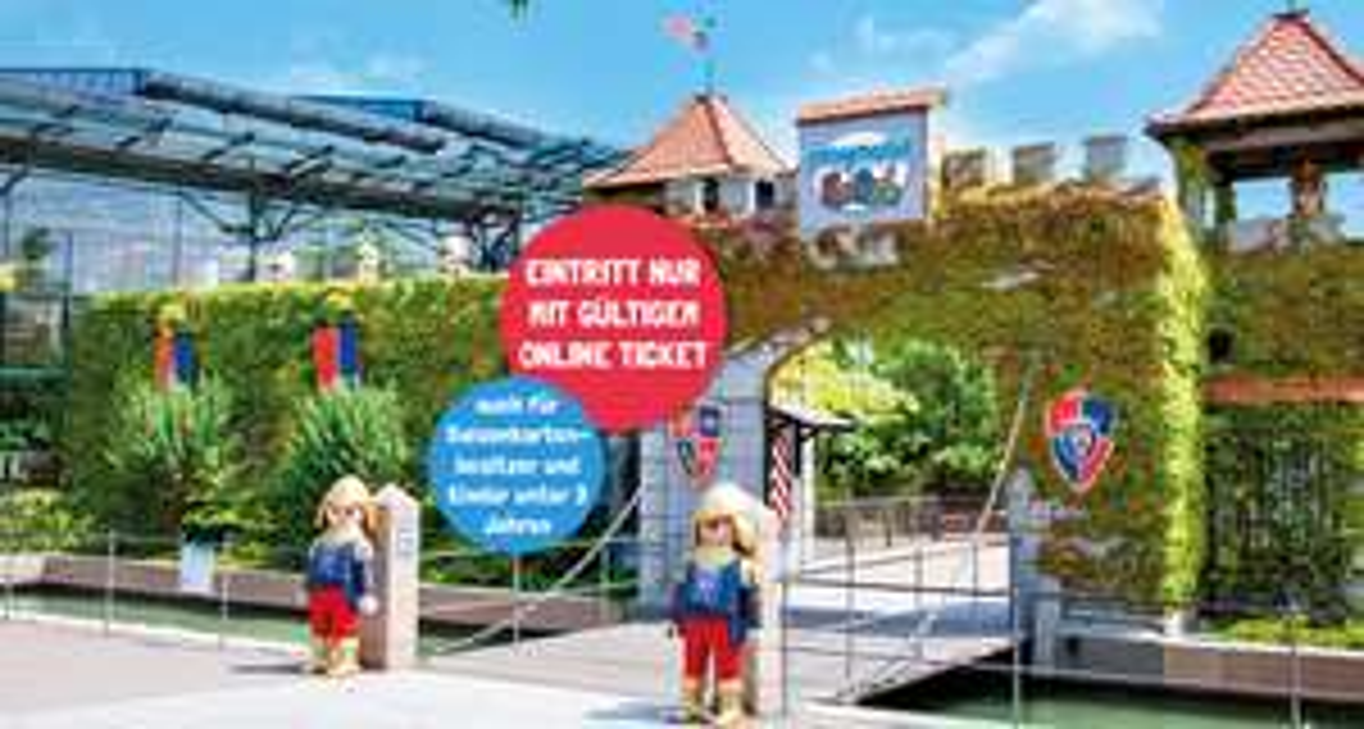 Playmobil Funpark / Winterkinder haben nächste Woche freien Eintritt