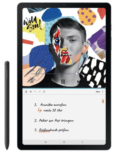 Samsung Galaxy Tab S6 LITE (WiFi/64 GB) mit Eingabe-Stift - NUR bis 9 Uhr