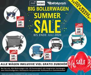 Bebepram - Big Bollerwagen Summer Sale