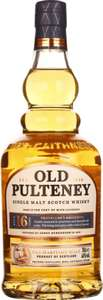 Whisky Old Pulteney 16 Years, 10 Years, Huddart und andere