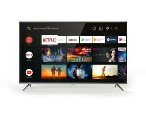 """Budget-Fernseher bei Saturn, z.B. TCL 65EP640 65"""" LED-TV (4K, HDR10, Triple-Tuner, Android TV) für 419,32€ bei Abholung"""
