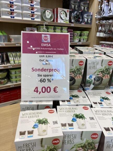 Lokal FOC Montabaur: Emsa Fresh Herbs Kräutertopf 13x17cm