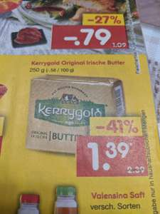 Kerrygold Butter bei Netto ohne Hund