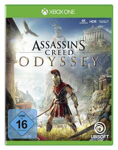 Assassin's Creed Odyssey (Xbox One) für 16,80€ (Amazon Prime & Saturn Abholung)