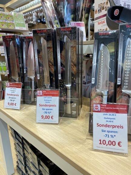 Lokal FOC Montabaur: Tefal Expertise Santoku Messer 18cm