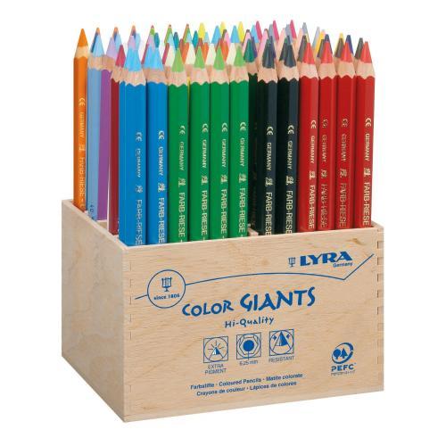 @Amazon Lyra Farb Riesen Holzaufsteller 96Stück für 54,93€ inkl. Versand
