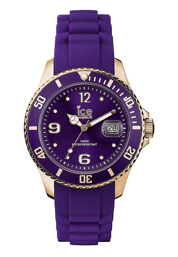 "Ice-Watch ""Ice-Style Unisex Purple"", 10 ATM, Mineralglas, 43mm"