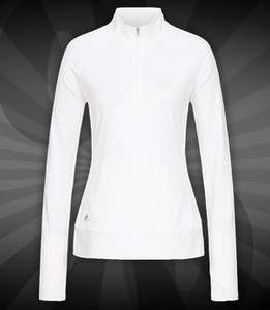 """Adidas Rangewear Golf Damen 1/2 Zip-Jacke """"BC1439"""" für 8,88€ + 3,95€ VSK [SportSpar]"""