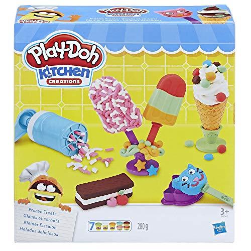 Hasbro Play-Doh - Kleiner Eissalon Spielset, für fantasievolles & kreatives Spielen inkl. sieben Dosen für 8,39€ (Amazon Prime & Saturn)