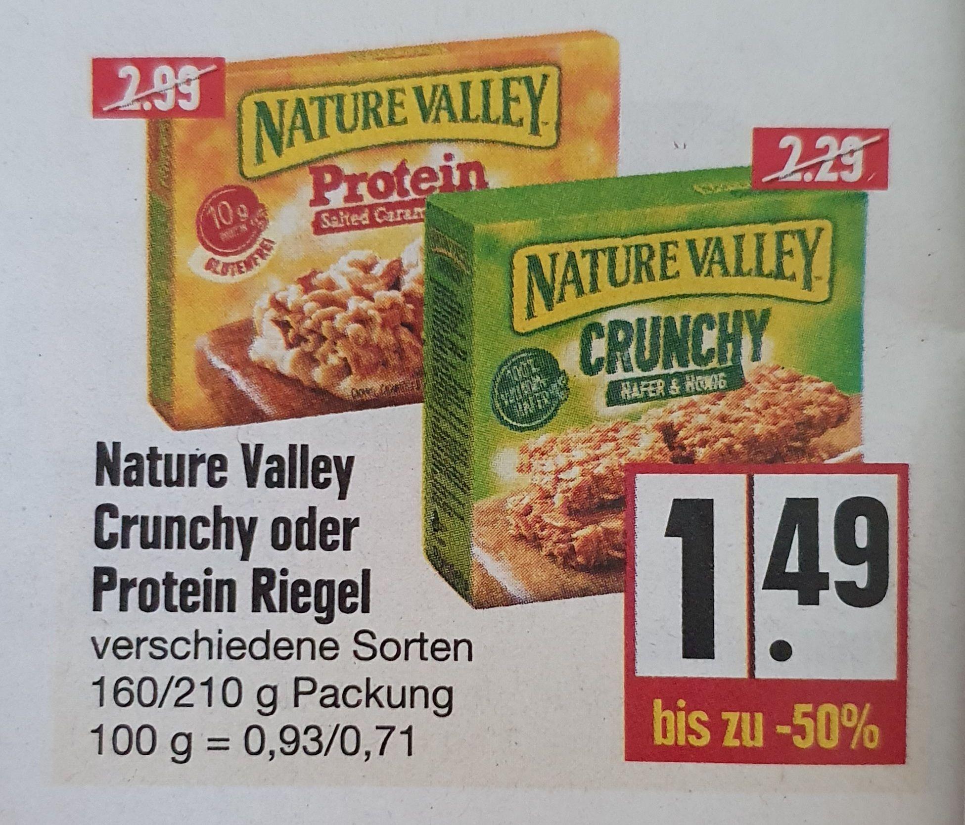 [LOKAL - Edeka Sachsen/Thüringen/Nordbayern] Nature Valley Protein Riegel