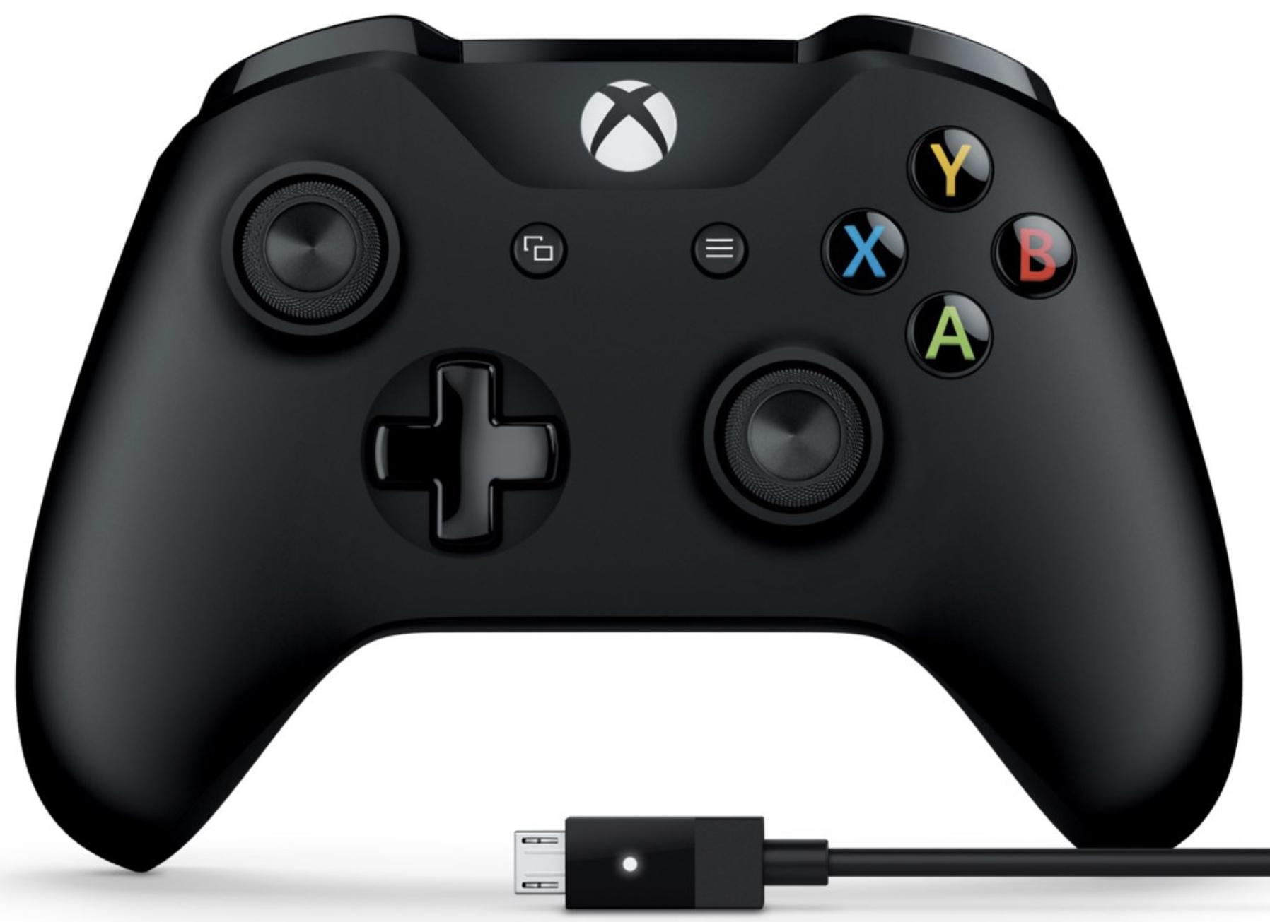 [Abholung] Microsoft Xbox One Wireless Controller + Kabel für Windows für 37,05€ mit Visa [Saturn ebay]