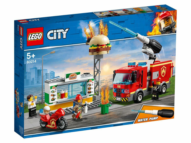 [Amazon Prime] LEGO City 60214 Feuerwehreinsatz im Burger-Restaurant