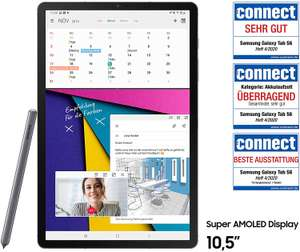 [Amazon/Saturn] Samsung Galaxy Tab S6 T865 (10.5 Zoll Tablet) LTE, mountain grey - 256GB (8GB RAM) inkl. Stift / S-Pen für Notizen