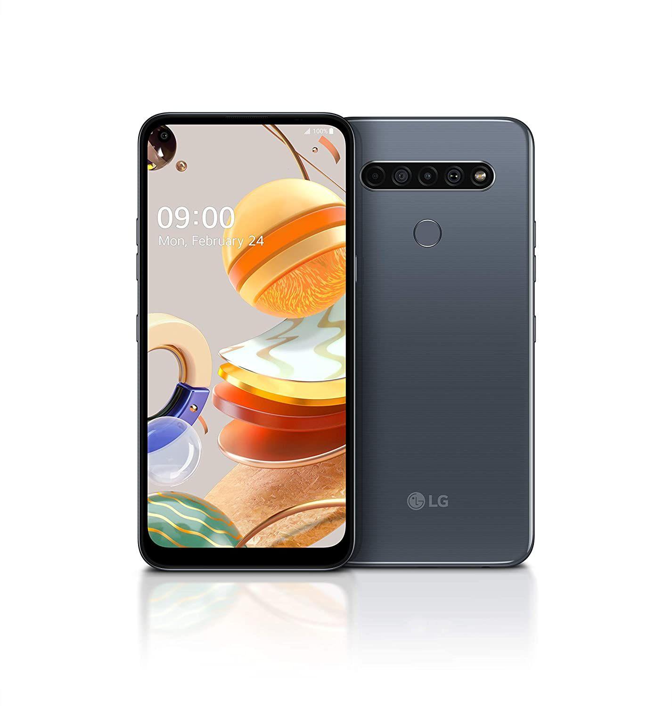 LG K61 Smartphone 128 GB (16,59 cm (6,53 Zoll) FHD+ Display, Premium 4-Fach-Kamera, MIL-STD-810G, DTS:X 3D, 4GB RAM) [Amazon & Saturn]
