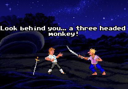 Monkey Island - Wortefechte **Harrr**
