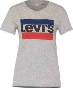 Sammeldeal Levi's The Perfect Graphic Tee Sportswear Damen T-Shirt [Amazon Prime]