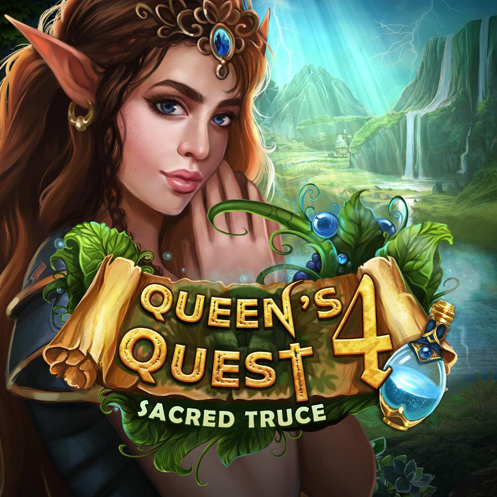 Queen's Quest 4: Sacred Truce (Switch) für 1,49€ oder für 1,02€ ZAF (eShop)